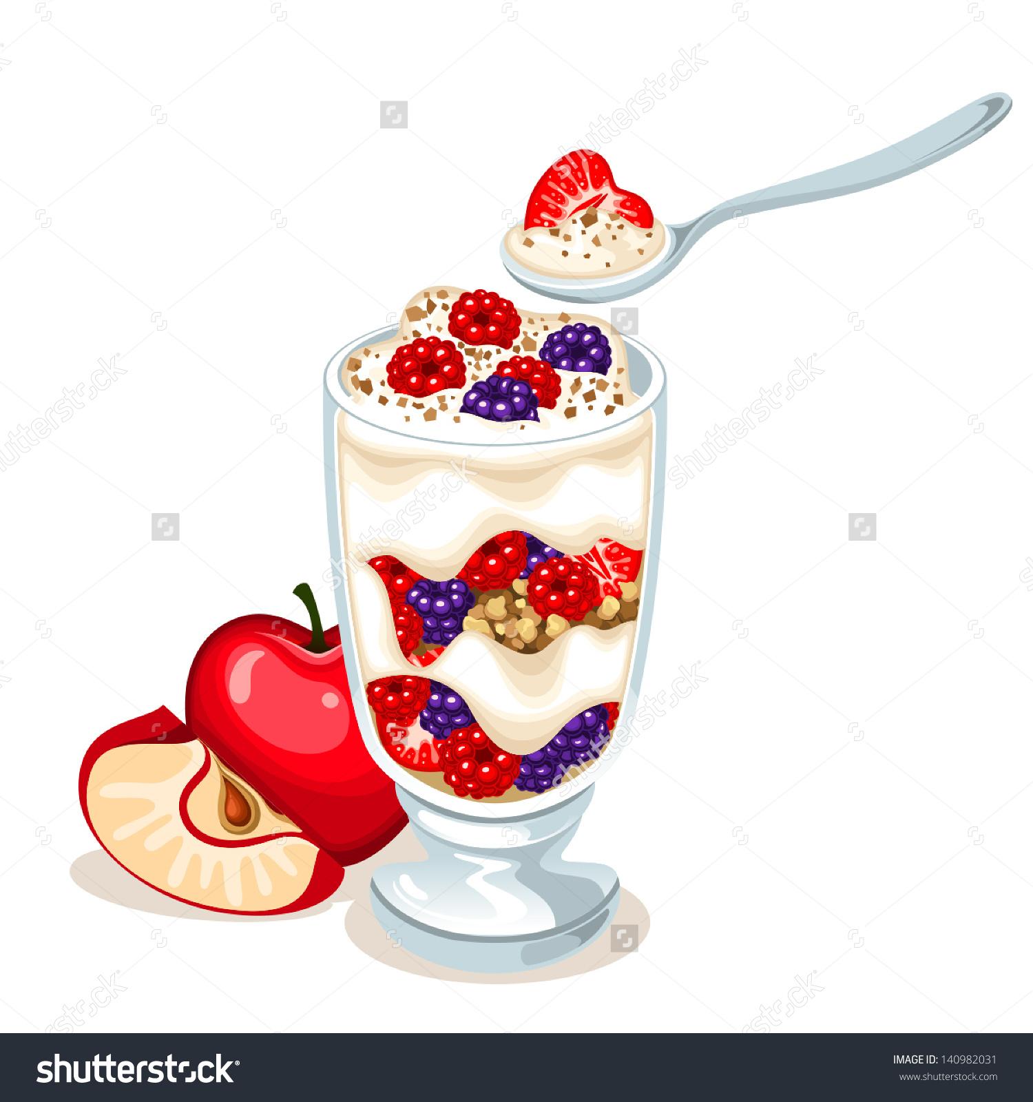 890 Yogurt free clipart.