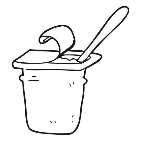 Yogurt clipart black and white 5 » Clipart Station.