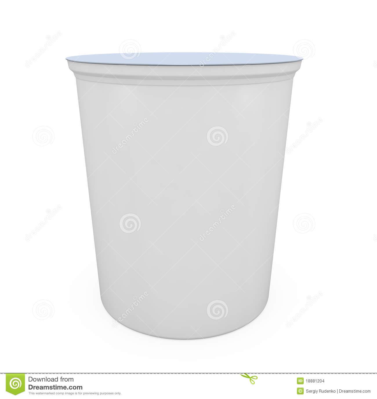 Yogurt Cup Stock Images.
