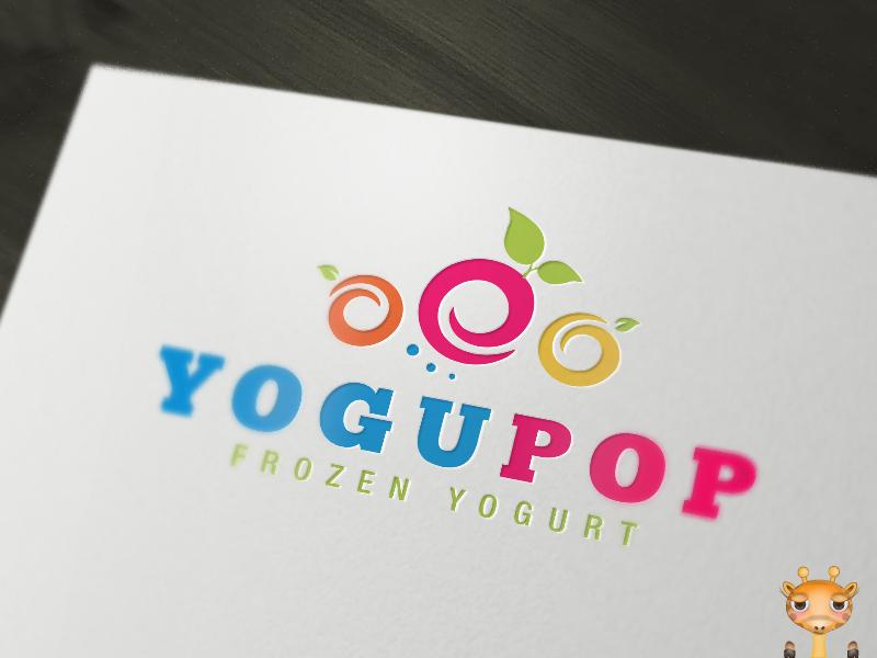 Frozen Yogurt Logo $300.