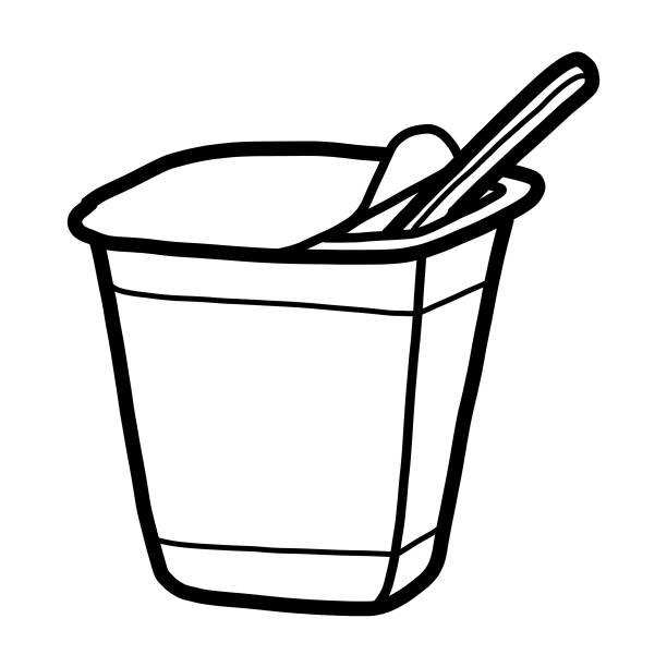 Best Yogurt Cup Illustrations, Royalty.