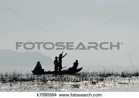 Stock Photo of Lago Yojoa in Hoduras k7090564.