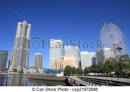 Pictures of Yokohama minatomirai 21 csp21972688.