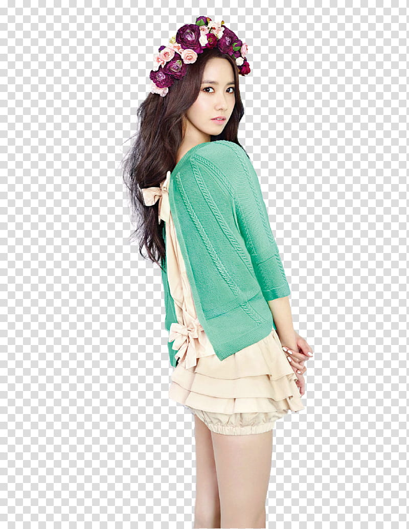 Yoona snsd in shoot render transparent background PNG.