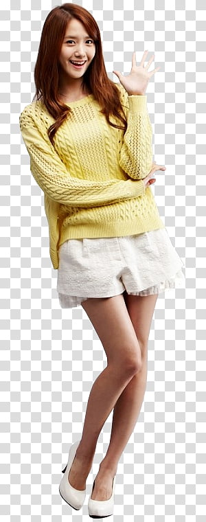 YOONA SNSD HOLIDAY NIGHT , SNSD Yoona transparent background PNG.