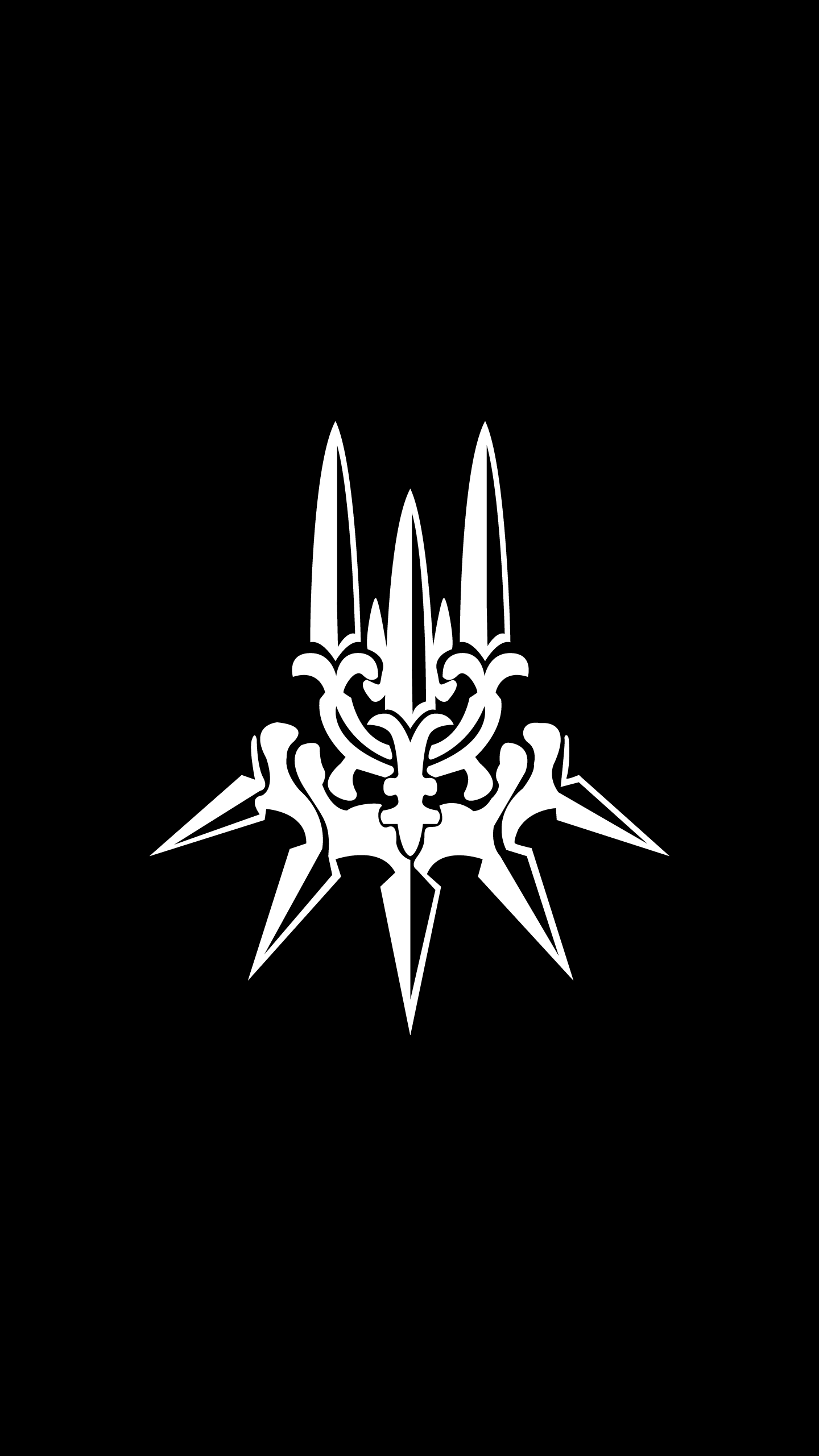 Made an HD YoRHa AMOLED wallpaper thought I'd share it here : nier.