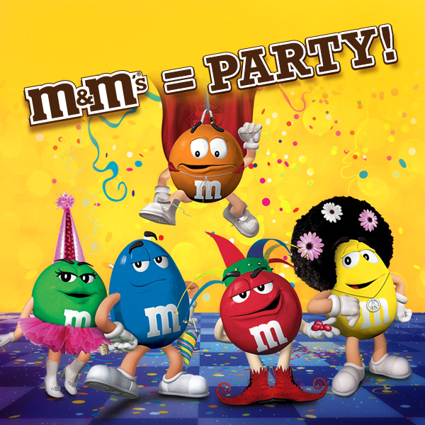 M&M\'s=Party! in 2019.