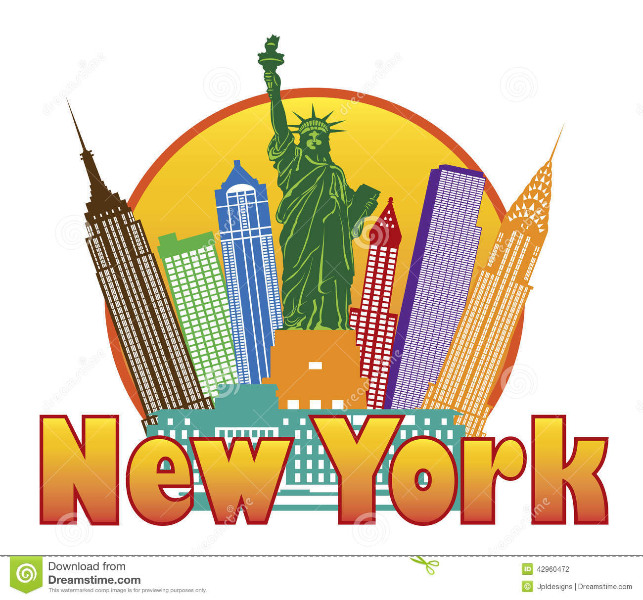 New York Clipart.