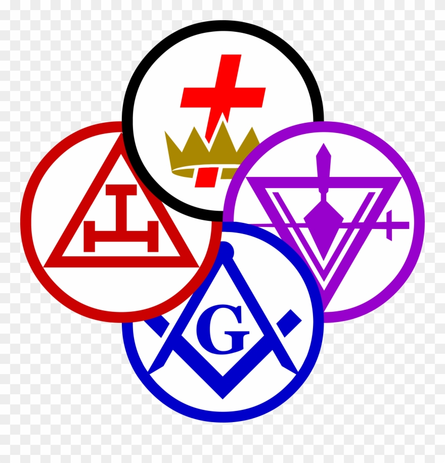 York Rites Of Freemasonry Clipart (#1196029).