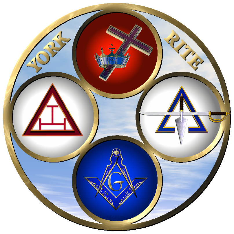 York Rite Masonic Clip Art.
