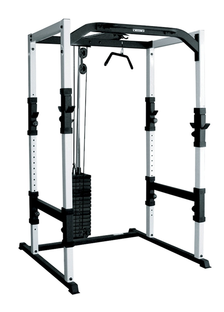 York Barbell FTS Power Cage.