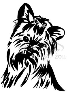 Yorkshire Terrier Cliparts.