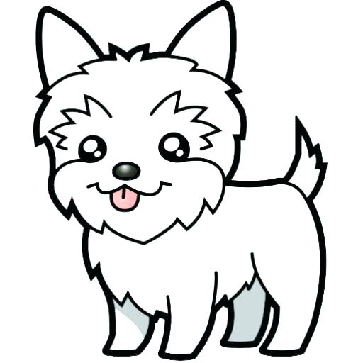 241 Yorkie free clipart.