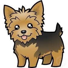 Image result for yorkie cartoon images.