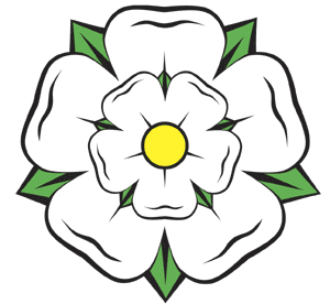 The White Yorkshire Rose.