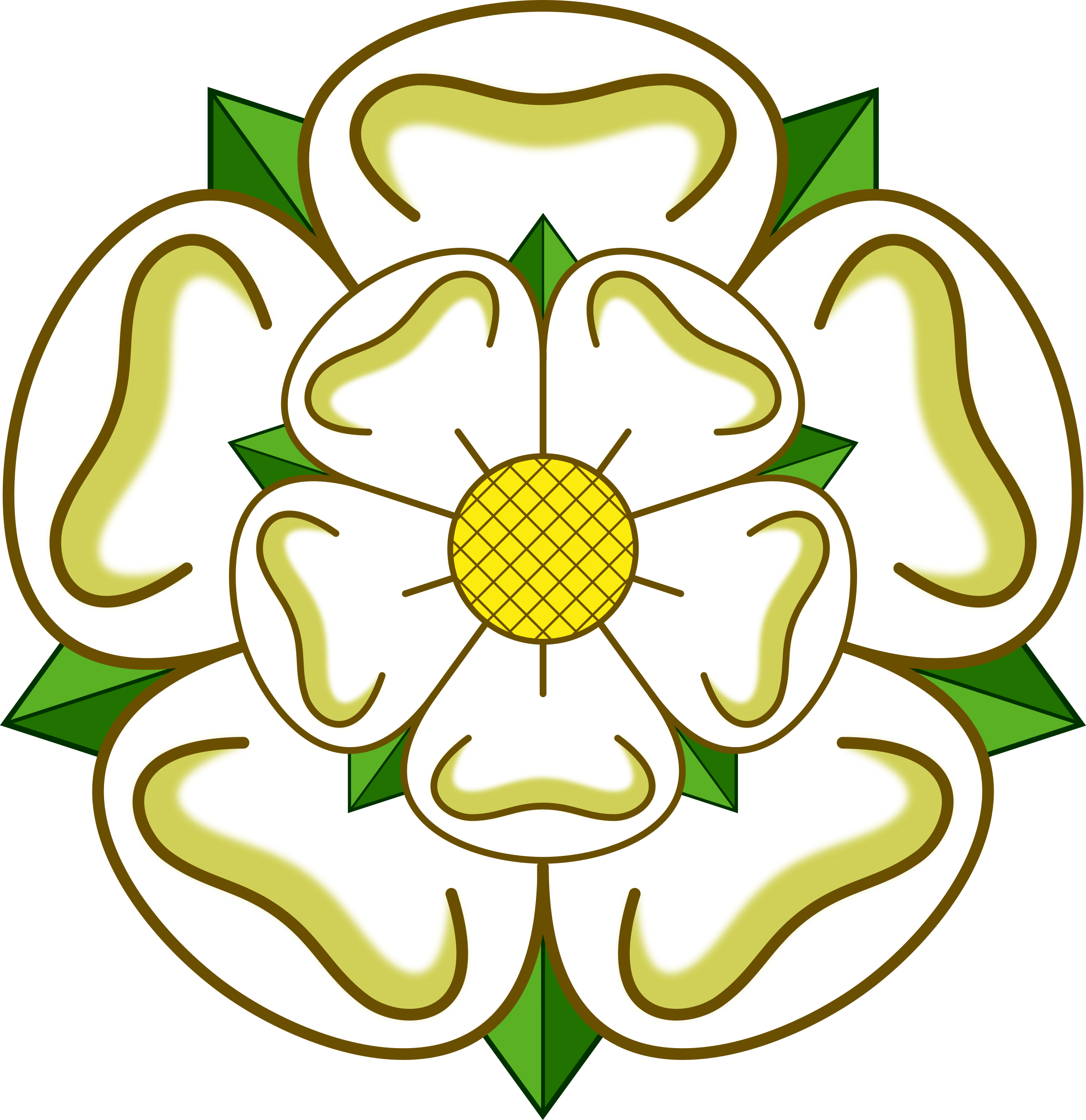 Clipart yorkshire rose.