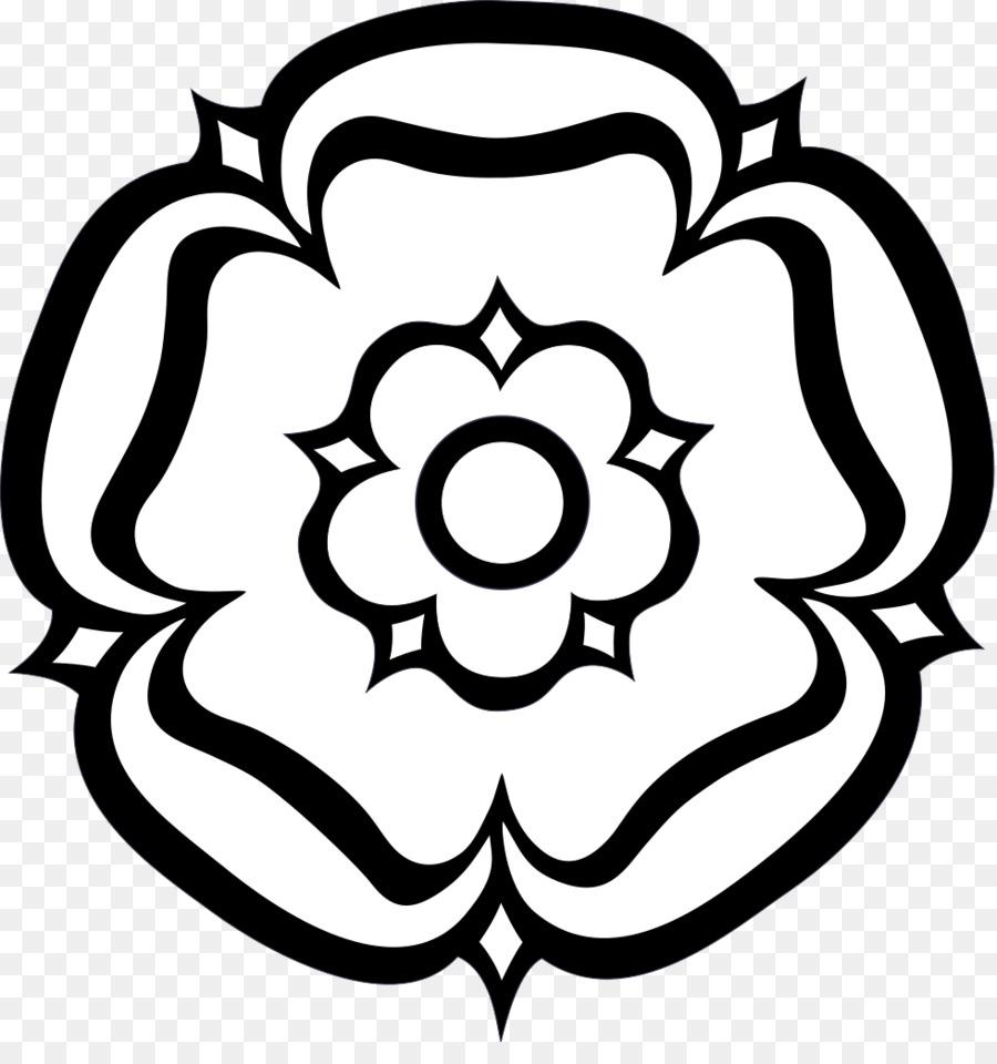 Yorkshire Rose Background.