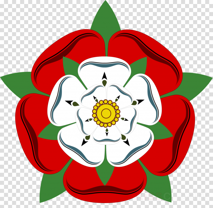 Yorkshire Rose Background clipart.