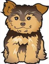Free Yorkshire Terrier Clipart.