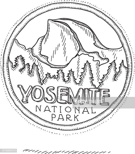 60 Top Yosemite National Park Stock Illustrations, Clip art.