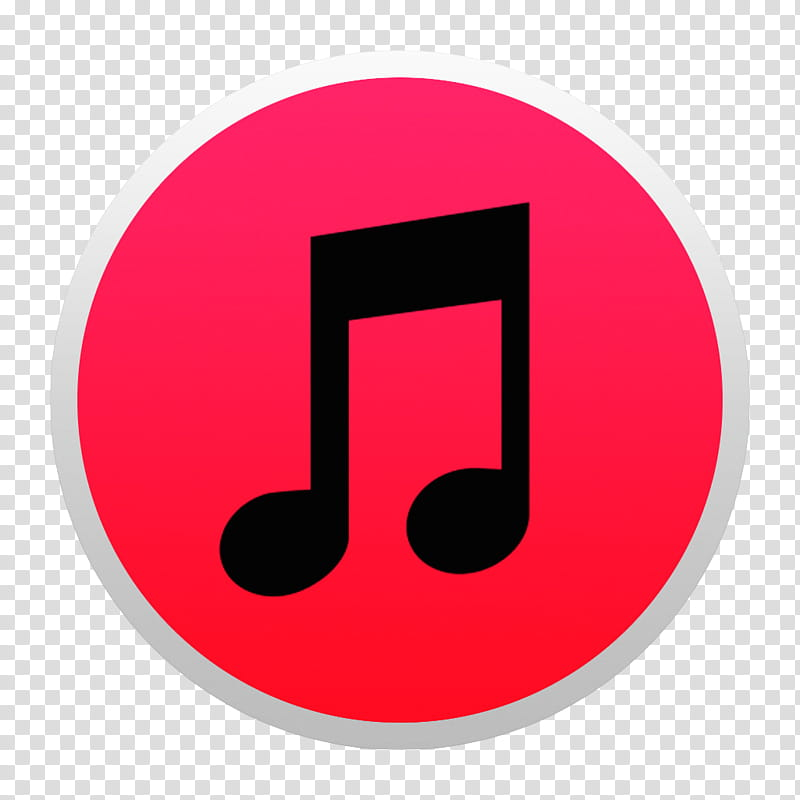 Black And Colorful Yosemite Style Icons, Red Itunes W: BG.