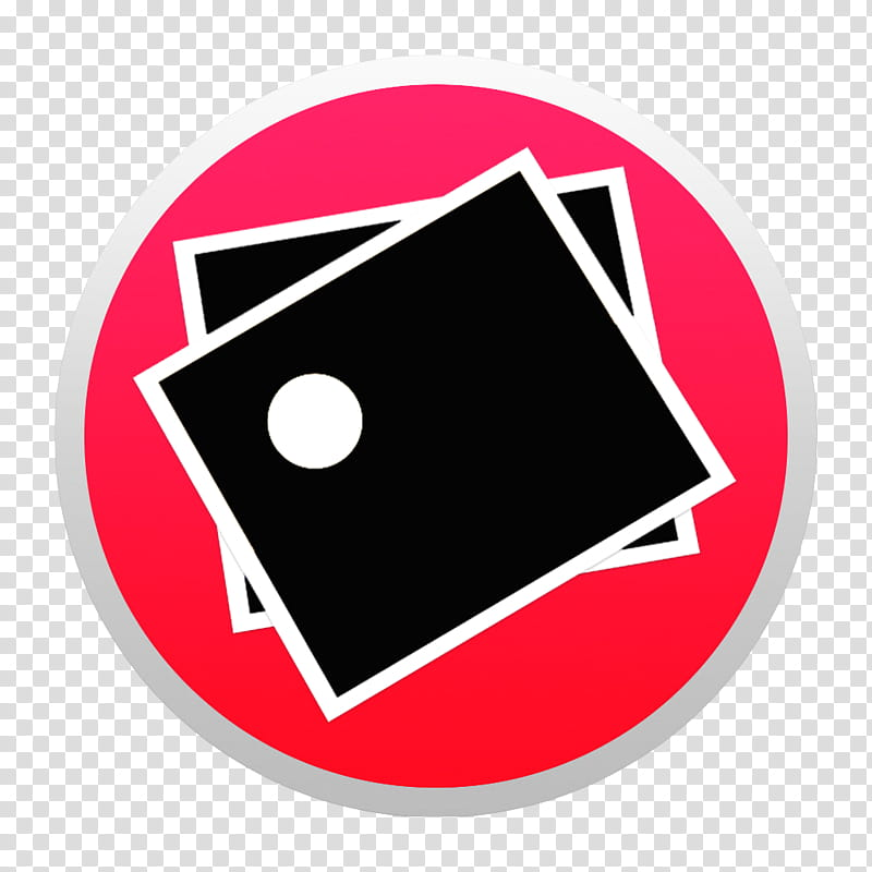 Black And Colorful Yosemite Style Icons, Red Preview W: BG.