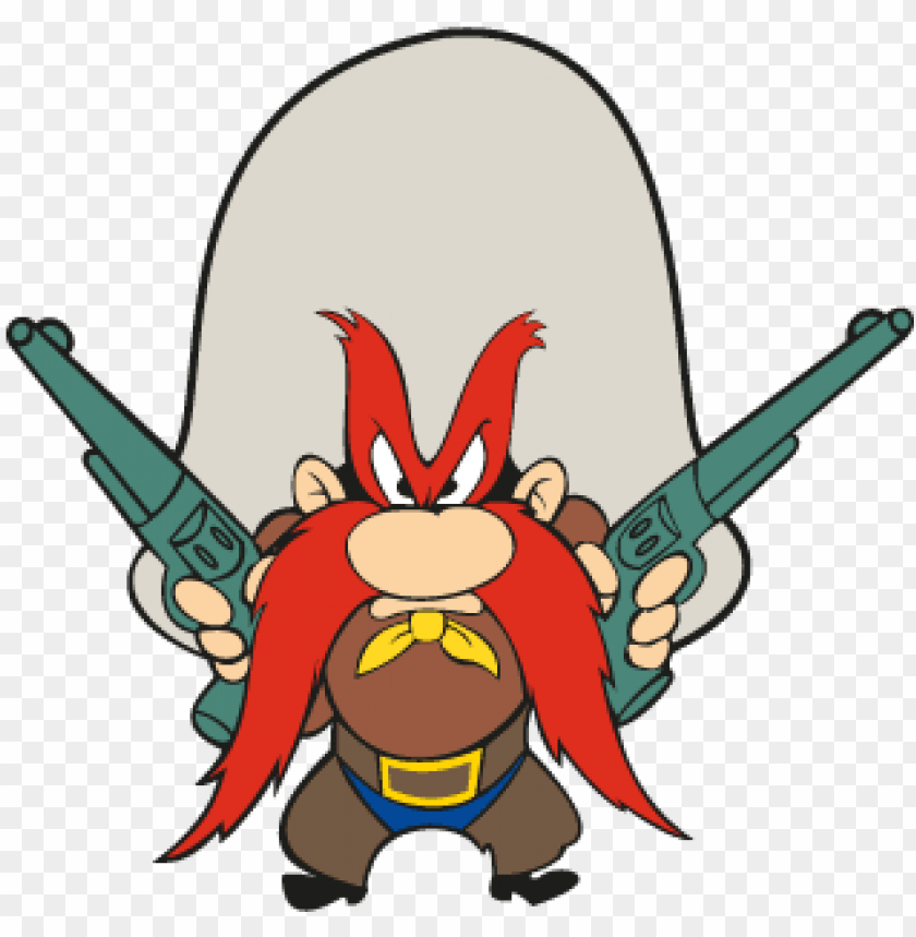 yosemite sam vector.