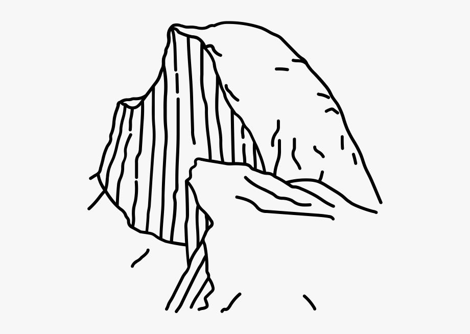 Half Dome Rubber Stamp.