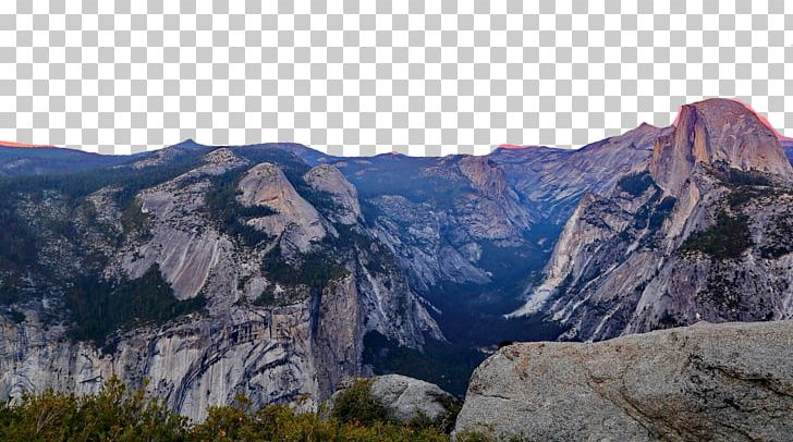 Yosemite Falls Half Dome El Capitan Yosemite Valley Tunnel View PNG.
