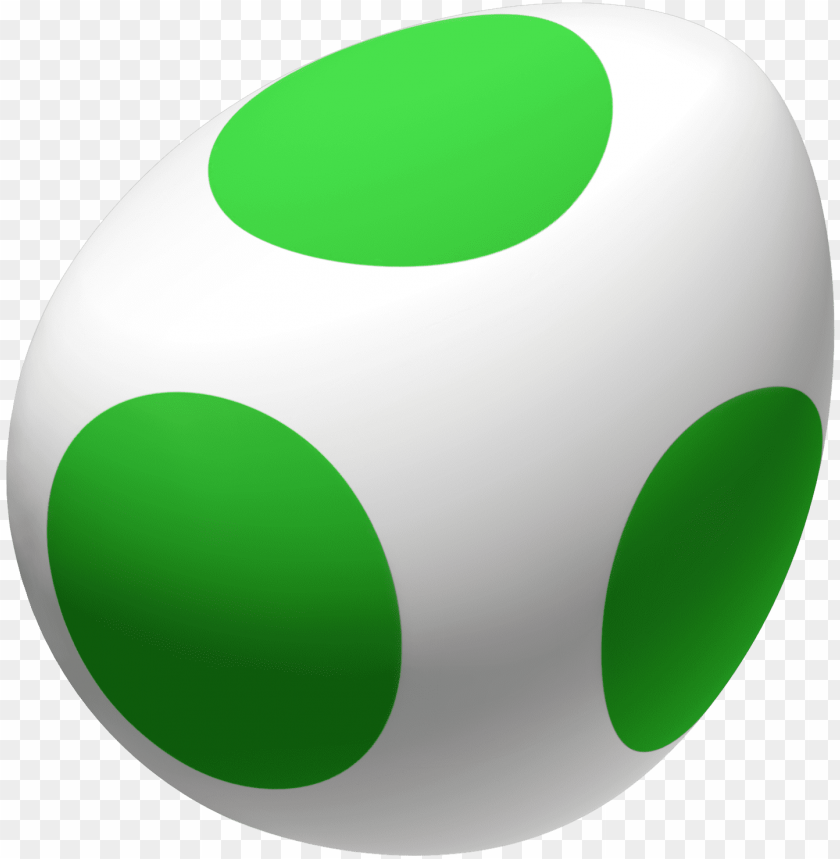 yoshi egg PNG image with transparent background.