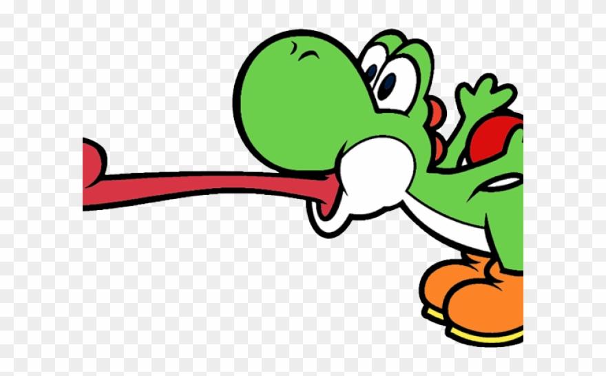 Yoshi Clipart Mario Character.