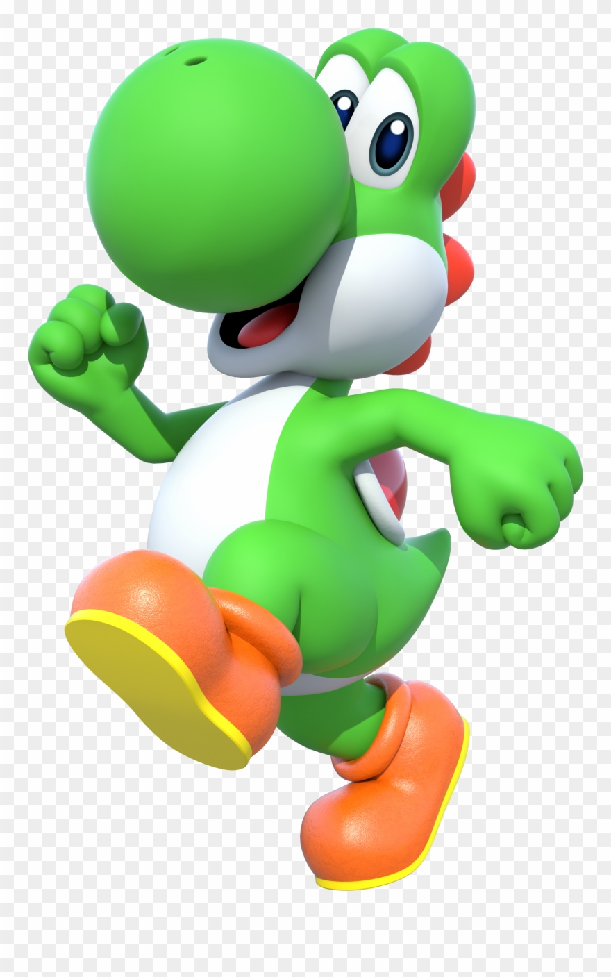 Yoshi Clipart Mario Brothers.