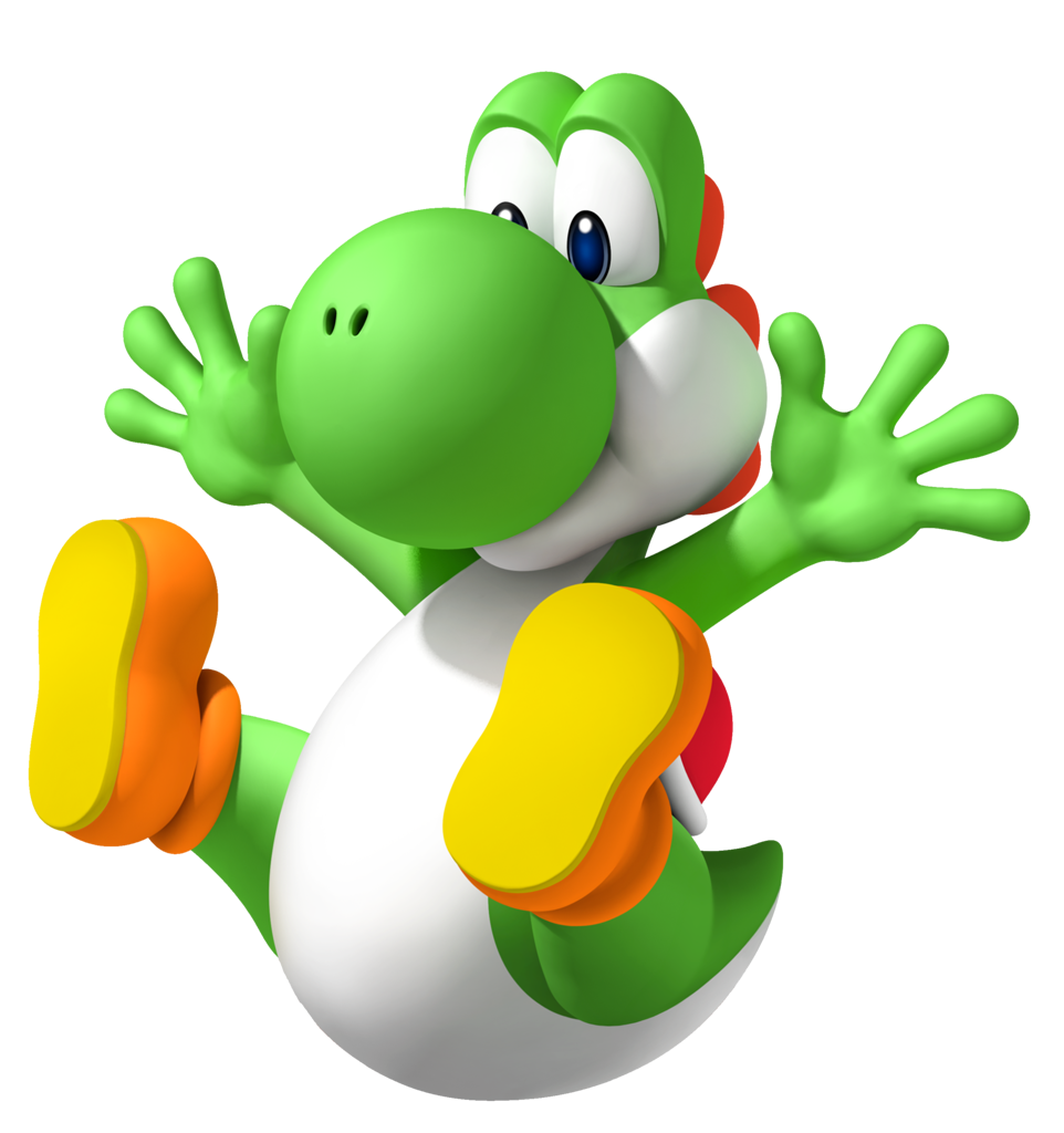 Download Yoshi PNG File For Designing Projects.
