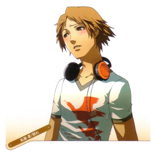 Persona 4 Yosuke Hanamura shirt (red birds).