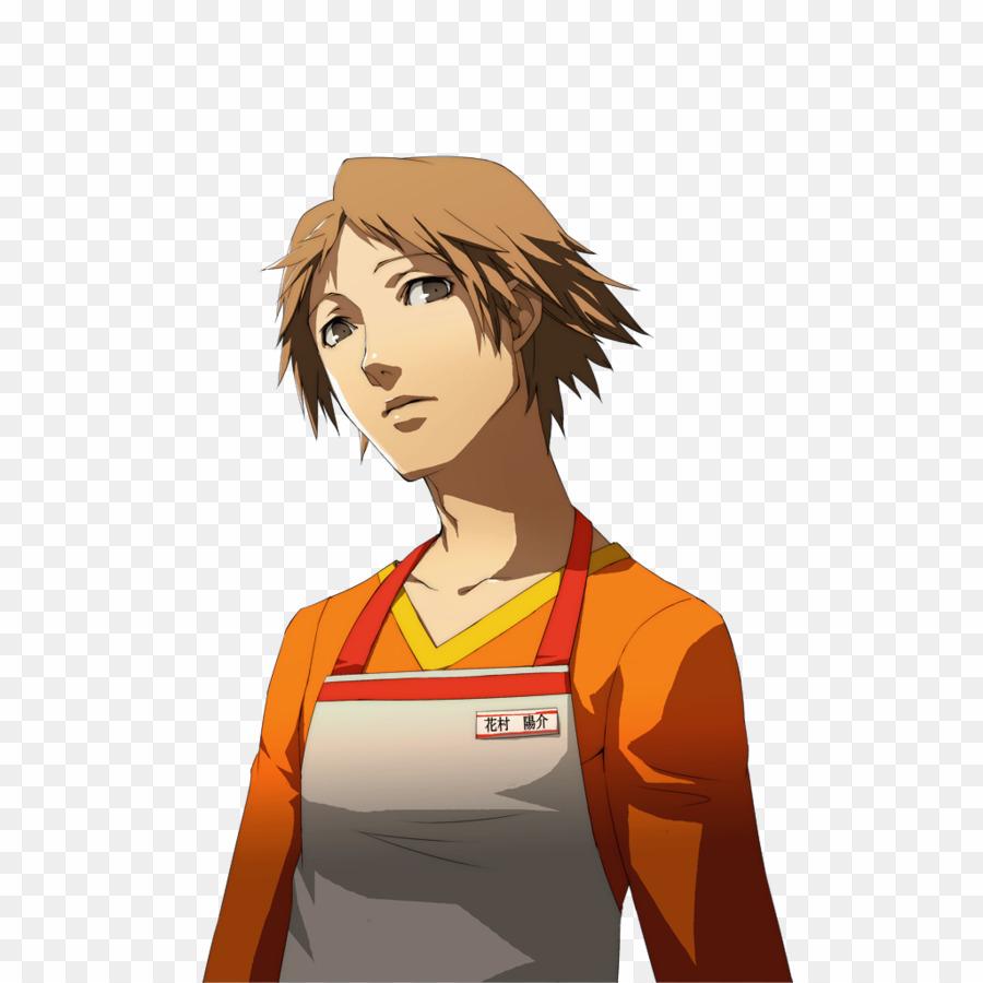 Yosuke Hanamura Shirt PNG Persona 4 Persona 3 Clipart.