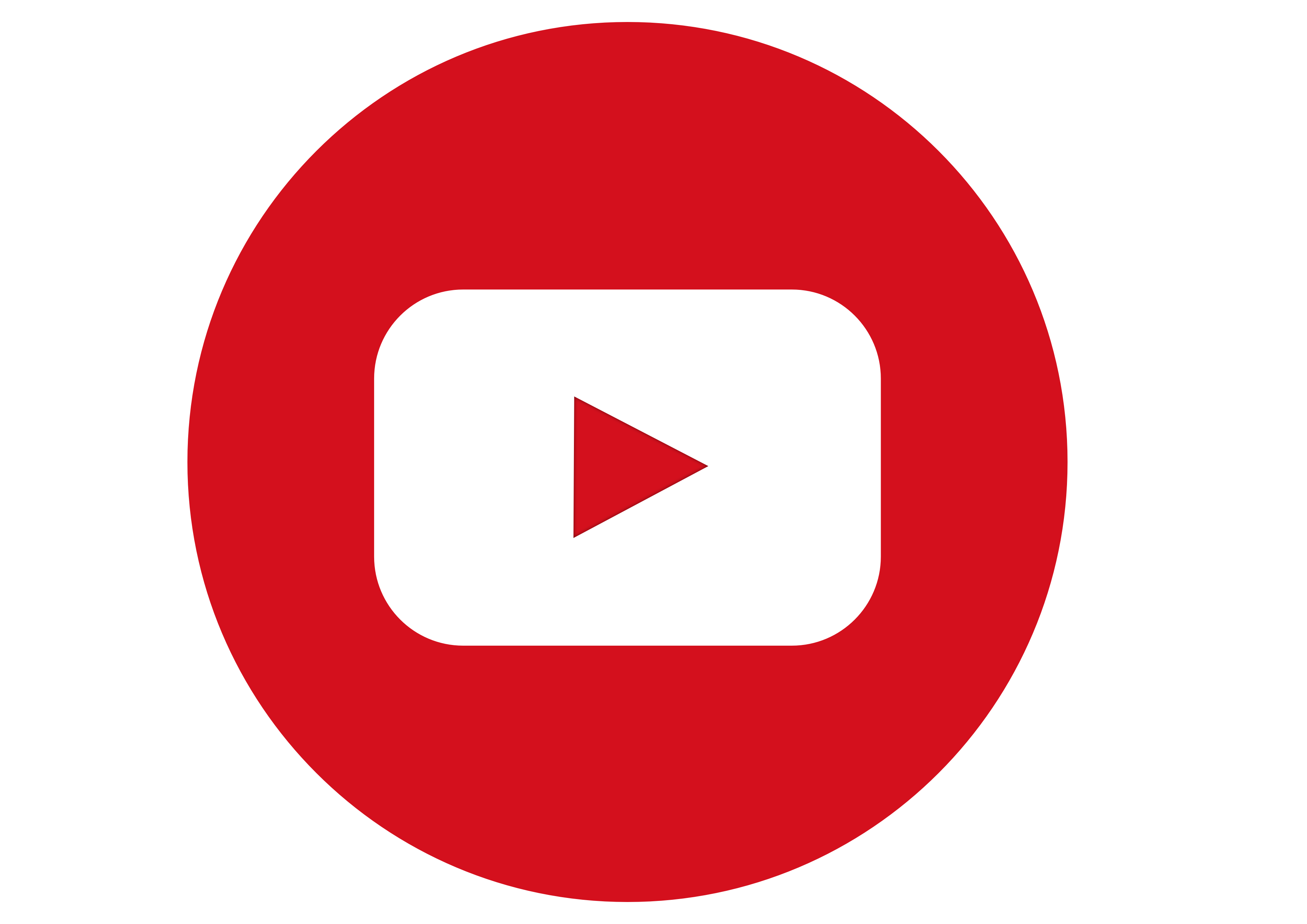 youtube logo icon transparent in 2019.