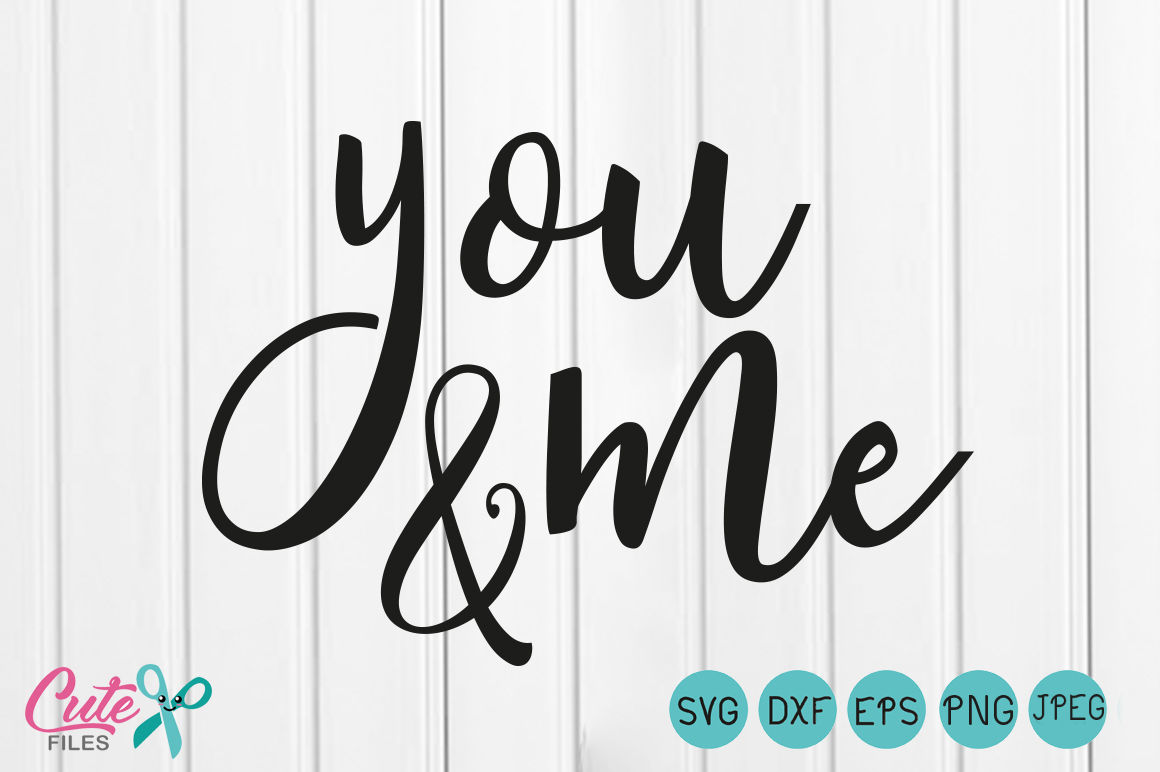 You and me SVG,Wedding SVG, Wedding Clip Art.
