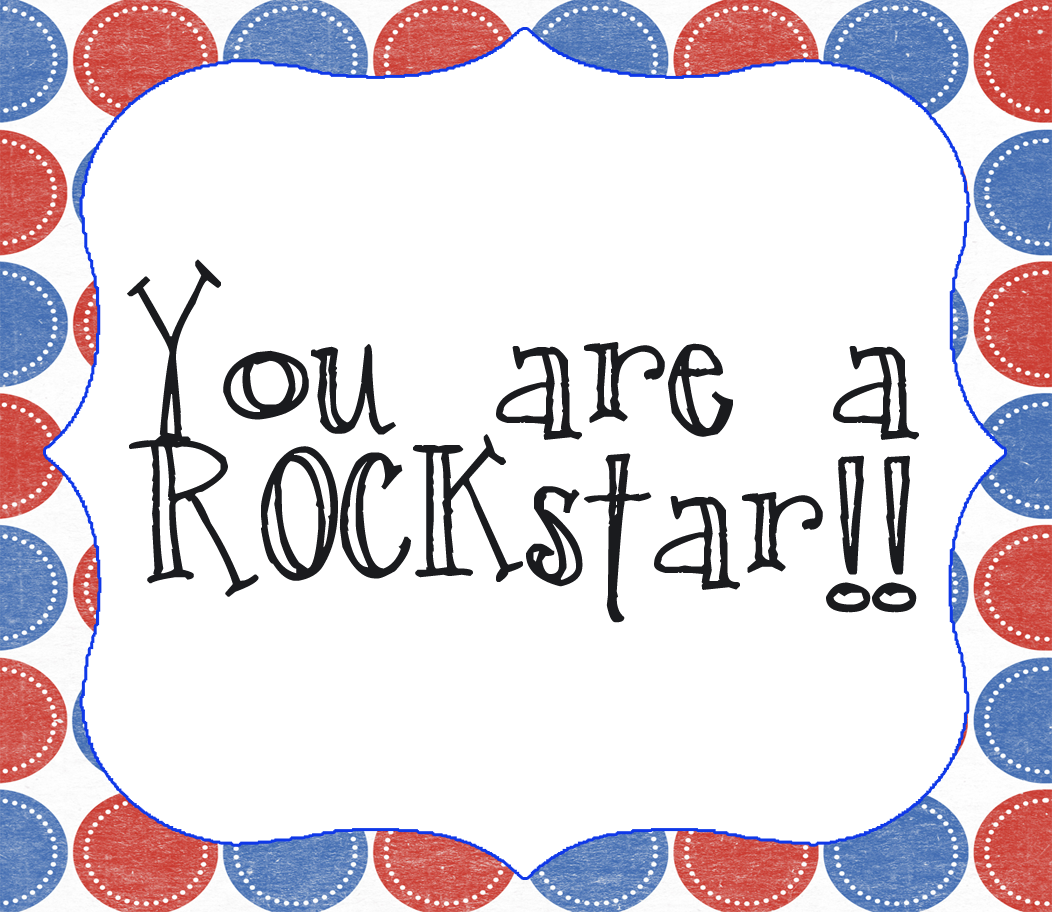 You\'re A Rockstar Clipart.