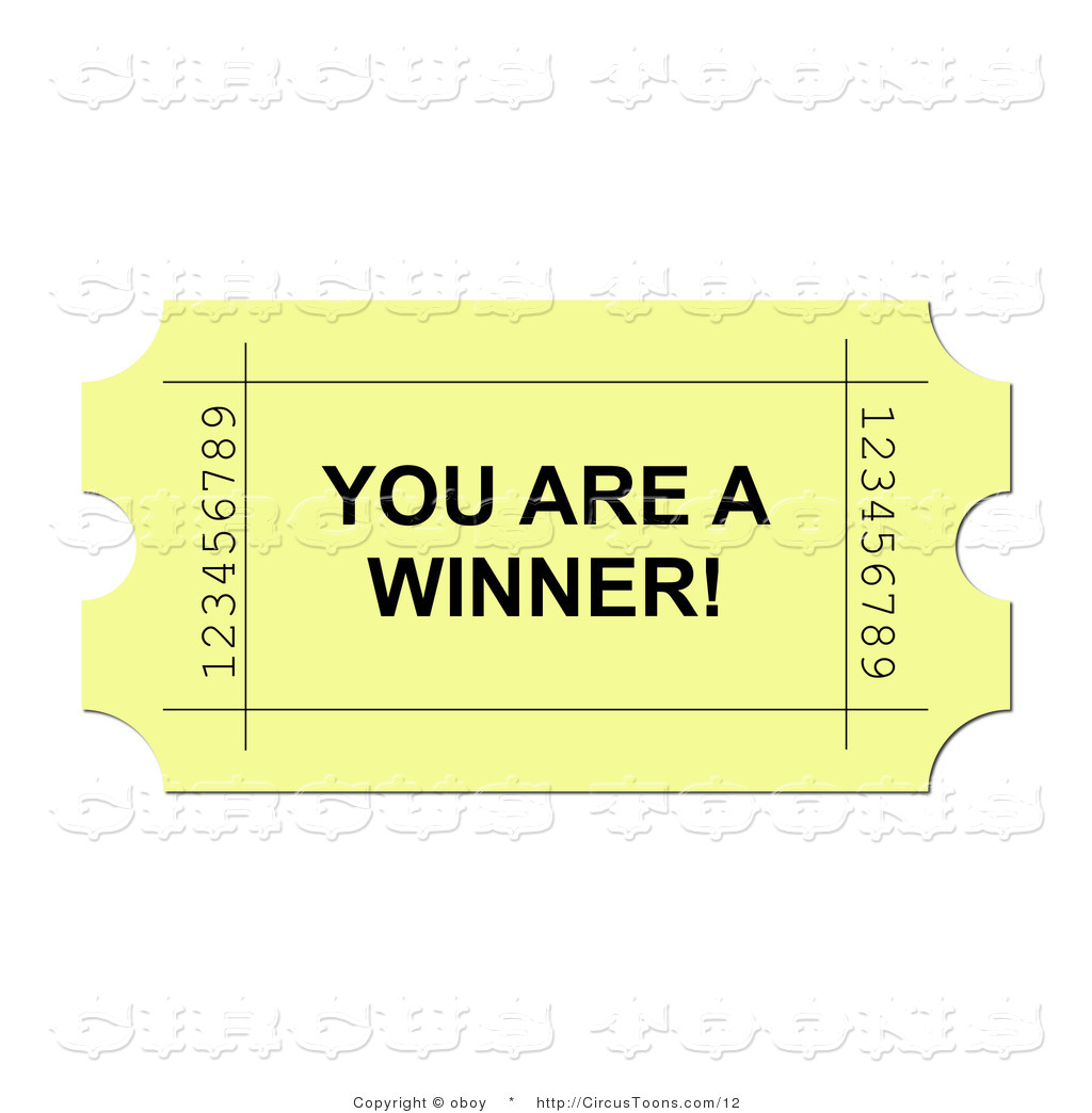 You Are A Winner Clipart.