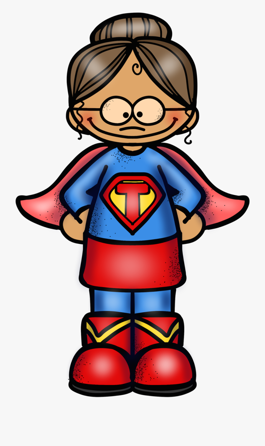 Super Thank You Teacher Clipart , Png Download.