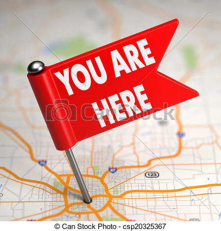 You Are Here Map Clipart.