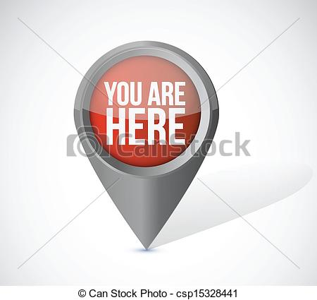 you are here map clipart #10
