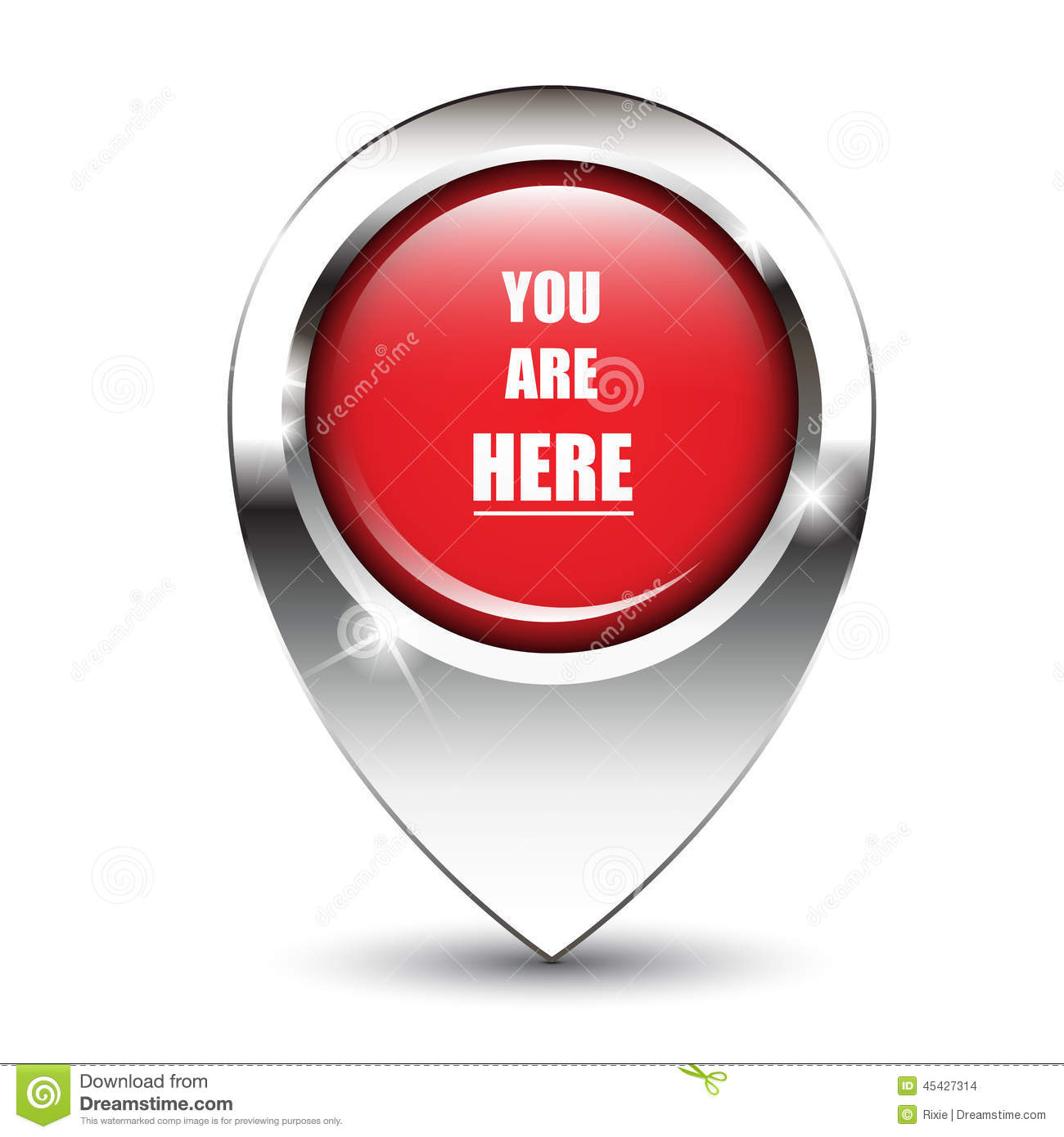 You Are Here Clipart.