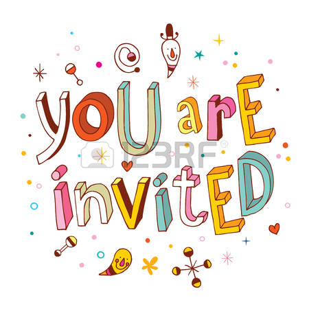 Youre Invited Clipart.