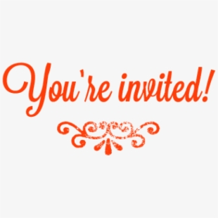 Youre Invited PNG Images.