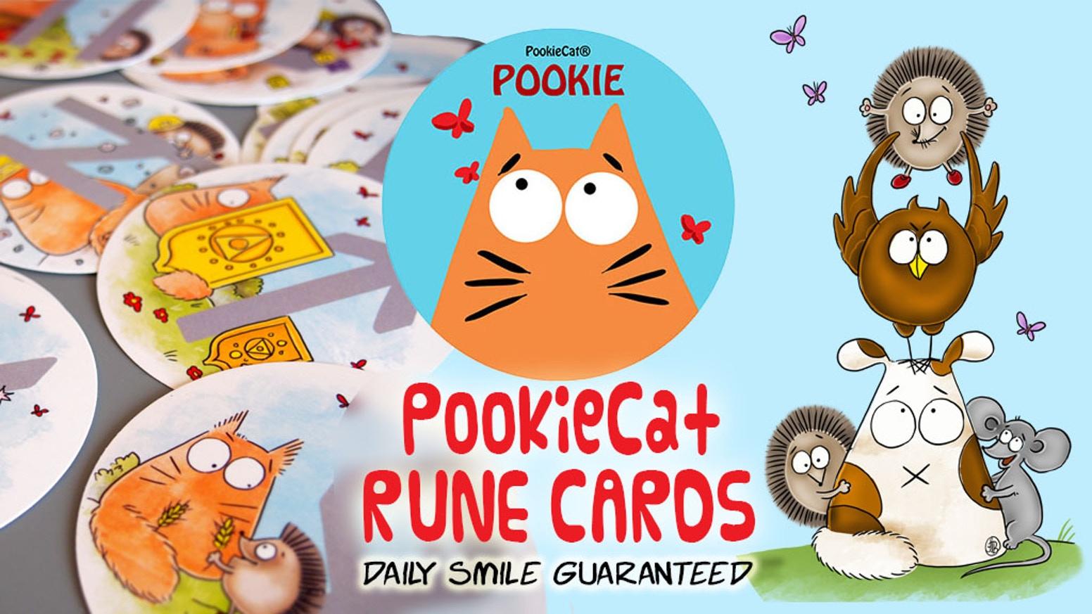 PookieCat rune cards.