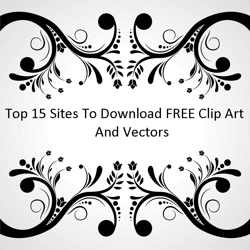 Top 15 Sites to Download FREE Clip Art And Vectors.
