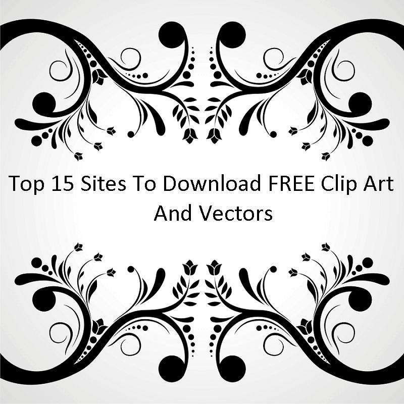 Top 15 Sites to Download FREE Clip Art And Vectors.