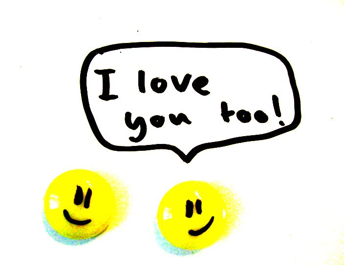 I Love You Too Clipart.