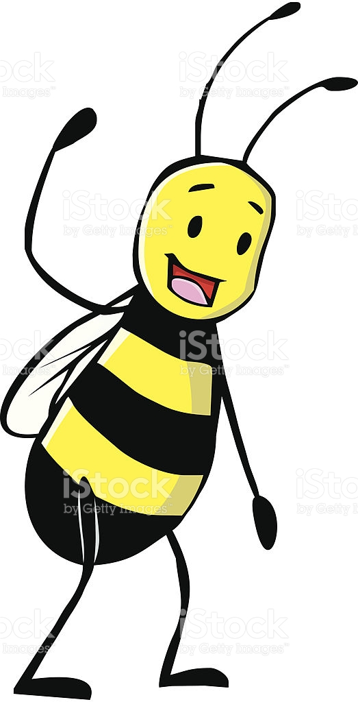 Friendly Bee Welcoming You To Come stock vector art 164568240.